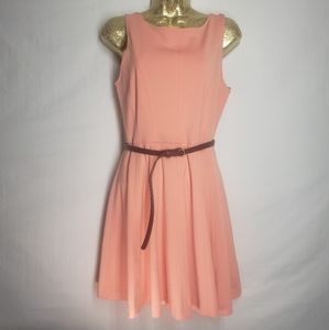 Forever 21. Skater dress open back w/belt …